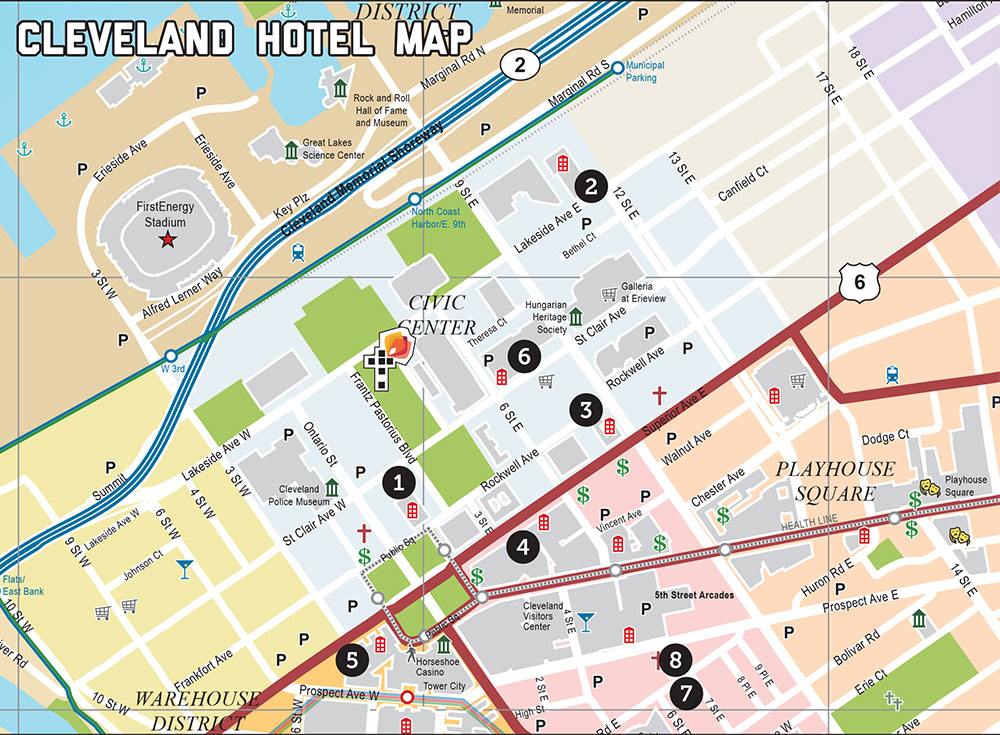 Synod Hotels in Cleveland